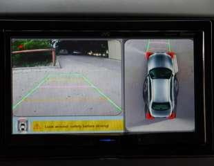 Система кругового обзора на 360 градусов с функцией видеорегистратора